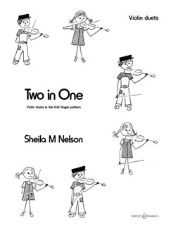 Sheila M Nelson: Two In One Books | Violin (Duet)