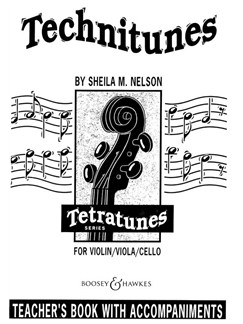 Sheila Nelson: Technitunes (Piano Accompaniments) Books | Piano Accompaniment