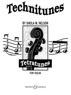 Sheila M. Nelson: Technitunes For Violin Books | Violin