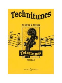 Sheila M. Nelson: Technitunes For Cello Books | Cello