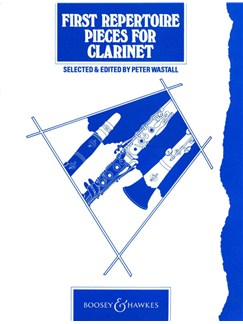 First Repertoire Pieces for Clarinet Books | Clarinet
