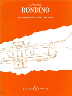 Allan Street: Rondino Books | Trumpet or Cornet, Piano Accompaniment