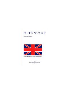 Gustav Holst: Suite No.2 Op.28 In F Books   Big Band & Concert Band