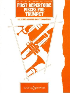 First Repertoire Pieces For Trumpet Books | Trumpet, Piano Accompaniment