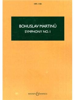 Bohuslav Martinu: Symphony No. 1 Books   Orchestra, Score