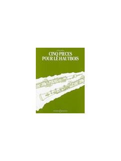 Antal Dorati: Cinq Pieces Pour Le Hautbois Books | Oboe