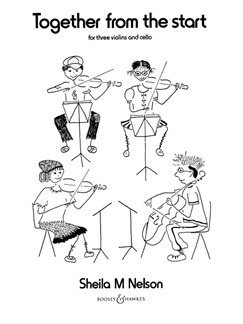 Shelia M. Nelson: Together From The Start Books | Cello, Violin (Trio)