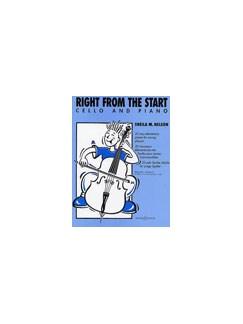 Sheila Nelson: Right From The Start (Cello/Piano) Books | Cello, Piano Accompaniment