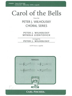 Mykola Leontovich: Carol Of The Bells (SATB) Books | SATB