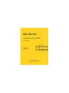 Bela Bartok: Hungarian Folk Melodies Books | Cello, Violin