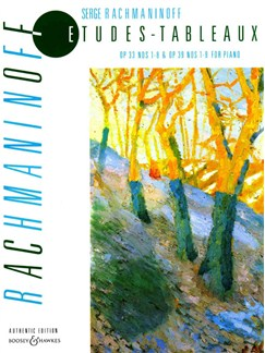Sergei Rachmaninov: Etudes-Tableaux Op.33 And Op.39 (Russian Piano Classics) Books | Piano