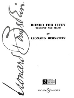 Leonard Bernstein: Rondo For Lifey Books | Trumpet, Piano Accompaniment