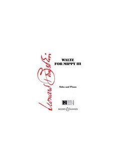 Leonard Bernstein: Waltz For Mippy III Books | Tuba, Piano Accompaniment