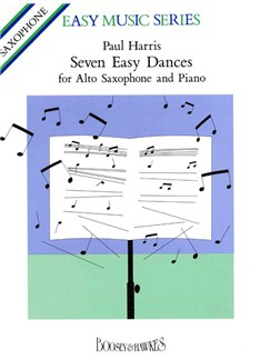 Easy Dances 7 Alto Sax/Pno Books | Alto Saxophone, Piano Accompaniment