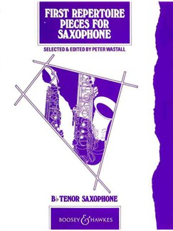 First Repertoire Pieces For Tenor Saxophone Books | Tenor Saxophone, Piano Accompaniment