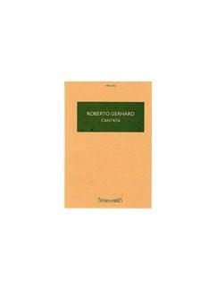 Robert Gerhard: Cantata Books | Soprano, Baritone, Orchestra, SATB