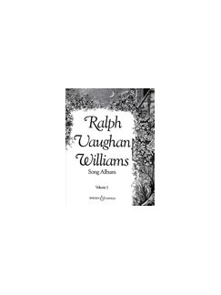 Ralph Vaughan Williams: Song Album Volume 1 Books | Voice, Piano Accompaniment