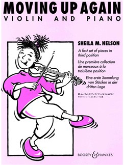 Sheila M. Nelson: Moving Up Again Books | Violin, Piano Accompaniment