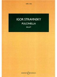 Igor Stravinsky: Pulcinella - Study Score Books | Orchestra