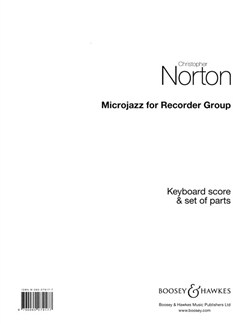 Microjazz For Recorder Group Books | Recorder Ensemble, Keyboard