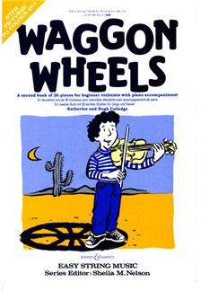 Hugh/Katherine Colledge: Waggon Wheels (Violin/Piano) Books | Violin, Piano Accompaniment