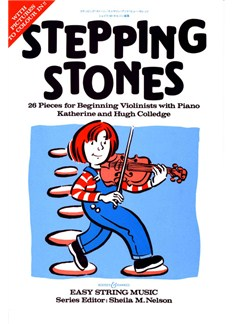 Katherine And Hugh Colledge: Stepping Stones (Violin) Books | Violin, Piano Accompaniment