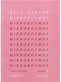 Bela Bartok: Mikrokosmos 2 (English/German/French/Hungarian) Books | Piano