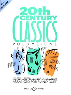 20th Century Classics For Piano Duet - Volume 1 Books | Piano Duet
