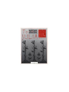 Roger Quilter: To Julia Books | Piano Accompaniment, Medium Voice