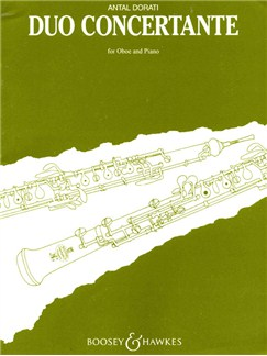 Antal Dorati: Duo Concertante Books | Oboe, Piano Accompaniment