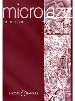 Christopher Norton: Microjazz For Bassoon Books | Bassoon, Piano Accompaniment