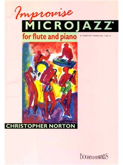 Christopher Norton: Improvise Microjazz Books | Flute, Piano Accompaniment