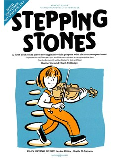 Katherine And Hugh Colledge: Stepping Stones (Viola) Books | Viola, Piano Accompaniment