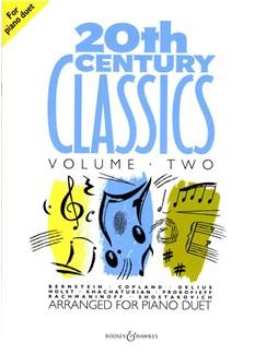 20th Century Classics For Piano Duet - Volume 2 Books | Piano