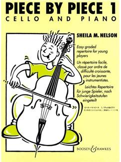Shelia M. Nelson: Piece By Piece - Book 1 (Cello/Piano) Books | Cello, Piano Accompaniment