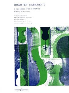 Quartet Cabaret Two: Eight Classics For Strings Books | String Quartet