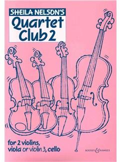 Sheila Nelson's Quartet Club Two Books | String Quartet