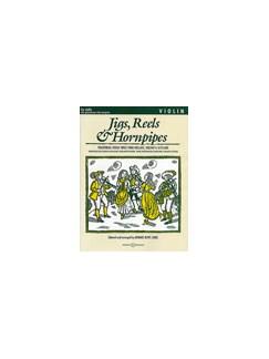 Edward Huws Jones: Jigs, Reels And Hornpipes (Violin Part) Books | Violin