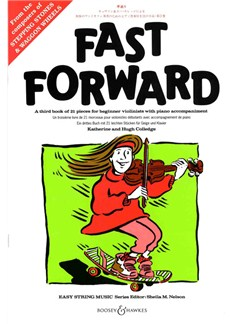 Fast Forward: Violin Books | Violin, Piano Accompaniment