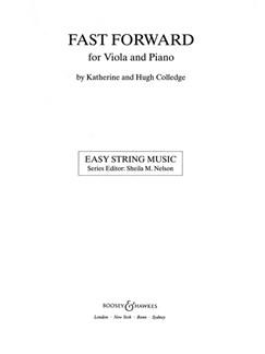 Katherine/Hugh Colledge: Fast Forward (Viola Part Only) Books | Viola