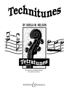 Sheila M. Nelson: Technitunes For Double Bass Books | Double Bass
