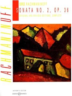 Sergei Rachmaninov: Sonata No.2 Op.36 Books | Piano