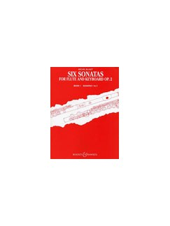 Michel Blavet: Six Sonatas For Flute And Keyboard Op.2 Book 1 Books | Flute, Piano Accompaniment