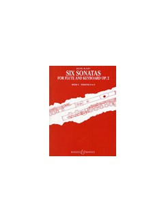 Michael Blavet: 6 Sonatas Op. 2/4-6 Books | Flute, Piano Accompaniment