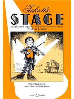 Hilary Burgoyne: Take The Stage Books | Violin, Piano Accompaniment