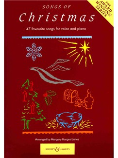 Songs Of Christmas Books   Voice, Piano Accompaniment