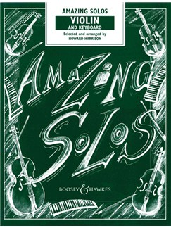 Howard Harrison: Amazing Solos (Violin/Piano) Books | Violin, Piano Accompaniment