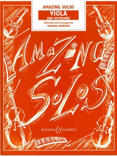 Howard Harrison: Amazing Solos (Viola/Piano) Books | Viola, Piano Accompaniment