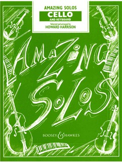 Amazing Solos For Cello And Keyboard Books | Cello, Piano Accompaniment