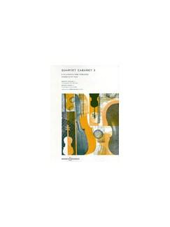 Quartet Cabaret 3 (Parts) Books | String Quartet